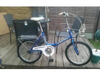 Adults fold up bike