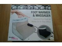 Foot Warmer&Massager used once