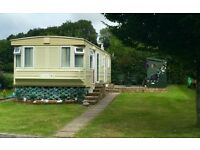 ATLAS DYNASTY SUPER STATIC CARAVAN NEAR CENARTH FALLS WEST WALES SITE FEES PAID UNTIL MARCH 2017.