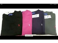 Ralph Lauren Jumpers - £25 each or two for £40 * NO SAVES! * * COLLECTION ONLY