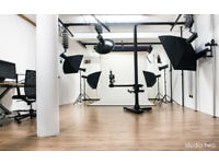 PHOTO STUDIO TWO + LIGTHING EQUIPMENT ### SPECIAL OFFER ### full day or half-day KENTISH TOWN ###