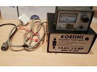 CB 12 volt power supply swr meter and patch lead