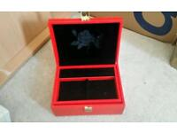 Red Rose jewellery box accessories