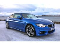 Low Mileage BMW 435I M Sport Twin Turbo (New back tyres just fitted)
