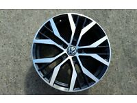 GENUINE 19 alloy wheel(BORBET) Vw GTD 5 X 112 Mint Condition
