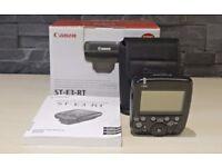 Canon ST-E3-RT Speedlite Transmitter like new.