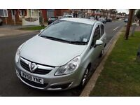 2008 Vauxhall Corsa Club CDTI Diesel 1.2L Manual ,£20 Tax Per Year