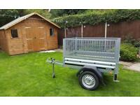Car trailer New Brenderup 1150 with mesh side