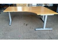 Ikea Bekant High Adjustable Office Corner Desks