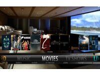 New 2nd gen Amazon Firestick Alexa voice control. Kodi 17.6. Sports, Movies, tv box sets