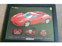 Framed Ferrari Enzo Poster