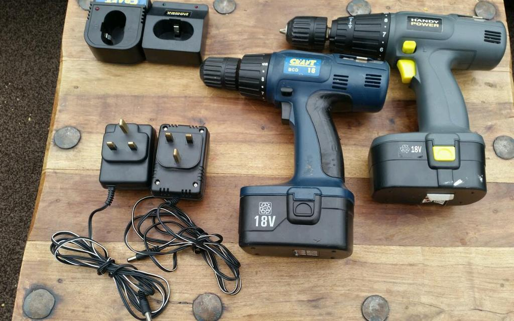 Craft handy power 18v cordless drills with chargers  : 86 from www.gumtree.com size 1024 x 640 jpeg 105kB