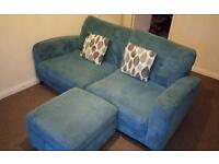 DFS Sofa, Chairs & Footstool