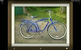 SCHWINN CRUISER STYLE BICYCLE JUST LIKE NEW