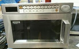 NEW SAMSUNG COMMERCIAL MICROWAVE OVEN