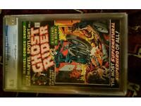 MARVEL SPOTLIGHT 5 1ST GHOST RIDER CGC 8.5