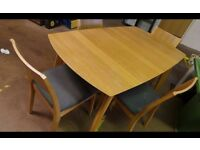 Good Condition Extendable Table With Chairs,Can Deliver
