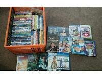 Dvd, blu ray, CDs, ps2 and xbox 360 bundle