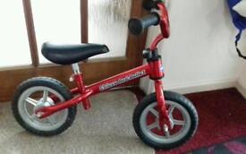 Boy's Chicco balance bike