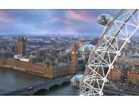 2 nights hotel stay in London 21-22nd December for 2