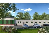 Showroom Large Warehouse Workshop to Let. Industrial Building with Office