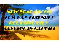 >>>NEW YEAR OFFER: GAY-FRIENDLY RELAXING MASSAGE WITH TOM IN CARDIFF<<<