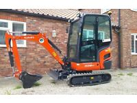 Mini Digger Hire, Lincolnshire