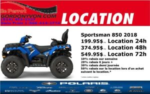 2018 Polaris Sportsman 850 Touring SP