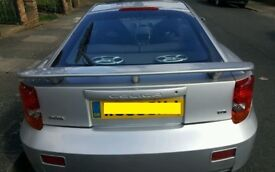 51 PLATE TOYOTA CELICA 1.8 VVTI MANUAL IN SILVER BREAKING VEHICLE FOR PARTS & SPARES