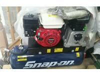 Snap on petrol air compesser