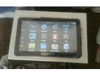 7in Tablet and Sat Nav using Windows Operating System