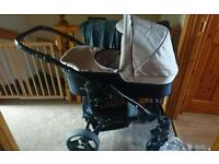 Venicci pram carrycot and pushchair