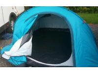 Impeccable pop up tent for 3 people