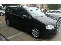 Black Volkswagen Touran Great car!