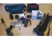 Canon Eos 550d Camera Bundle