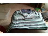 Various nike pique shirts