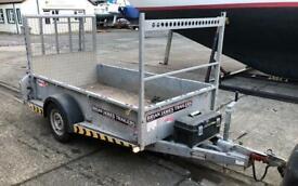 Brian James 8x4 braked trailer