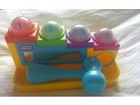 Little Tikes Hammer and Ball set