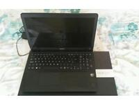 Sony Vaio intel core i7 2013 svf15a1c5e 15 inch Laptop running Windows 8