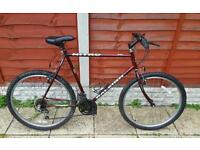 Great mens 26inch raleigh mountain bike in good condition all fully working