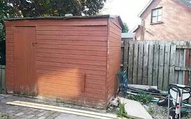 Sold. 10 x 6 shed. Needs repairs.