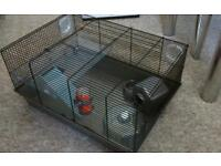 Medium wired hamster cage