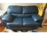 Good condition lether sofa 2 seats