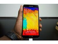 Samsung galaxy note 3, hd camera, hd screen on 3 network only £125