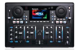 numark hdmix cd usb dj decks, heavy flight case light up keyboard, 80gb hdd + 2 keys used vgood £300