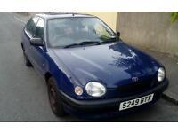 Toyota corolla 1999 quick sale