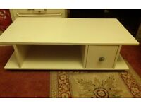 TV stand with draw