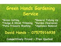 Grass & Hedge Cutting, General Tidying Up - Exeter & Surrounding Areas!