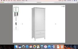 John Lewis single Wilton Wardrobe