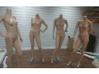 Female Mannequins- Heavy Duty - Various Poses